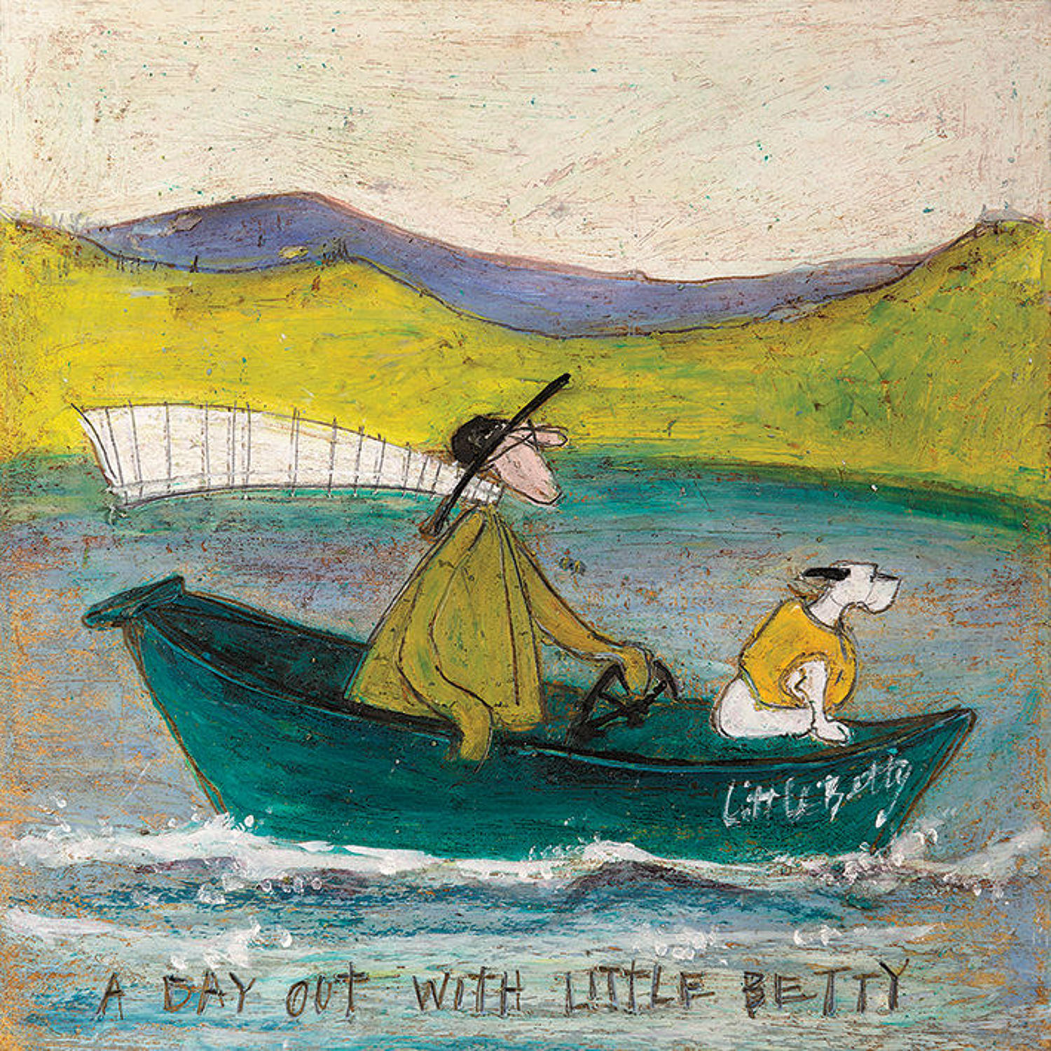 Sam Toft- Canvas print - A day out with little Betty