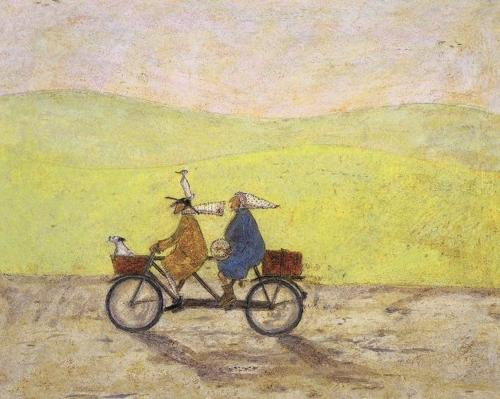 Sam Toft - Canvas print - Grand day out