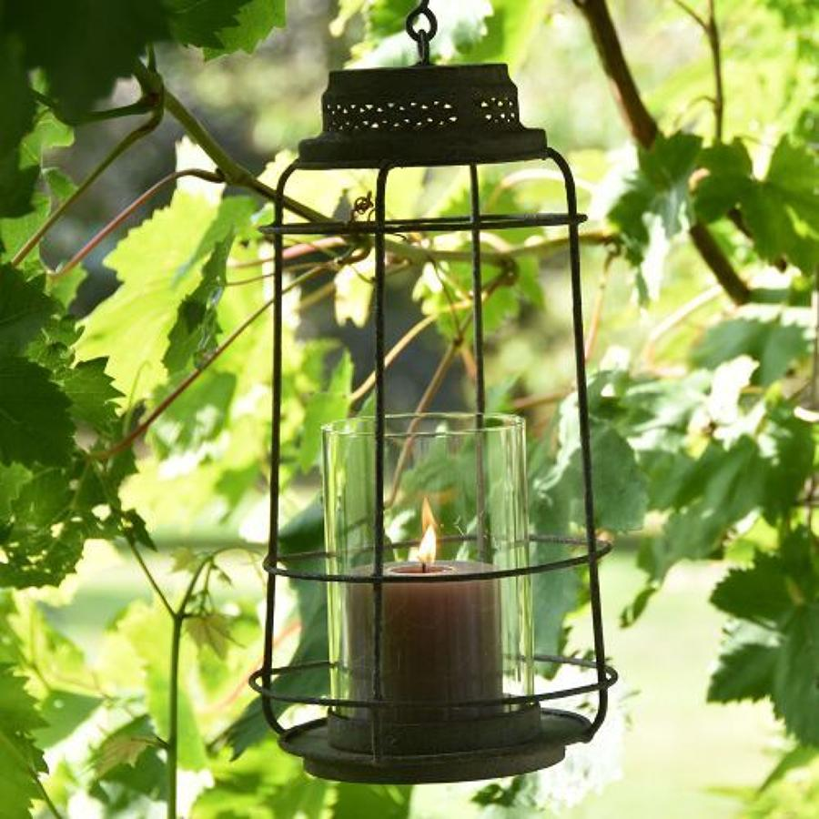 Lantern oceana with glass