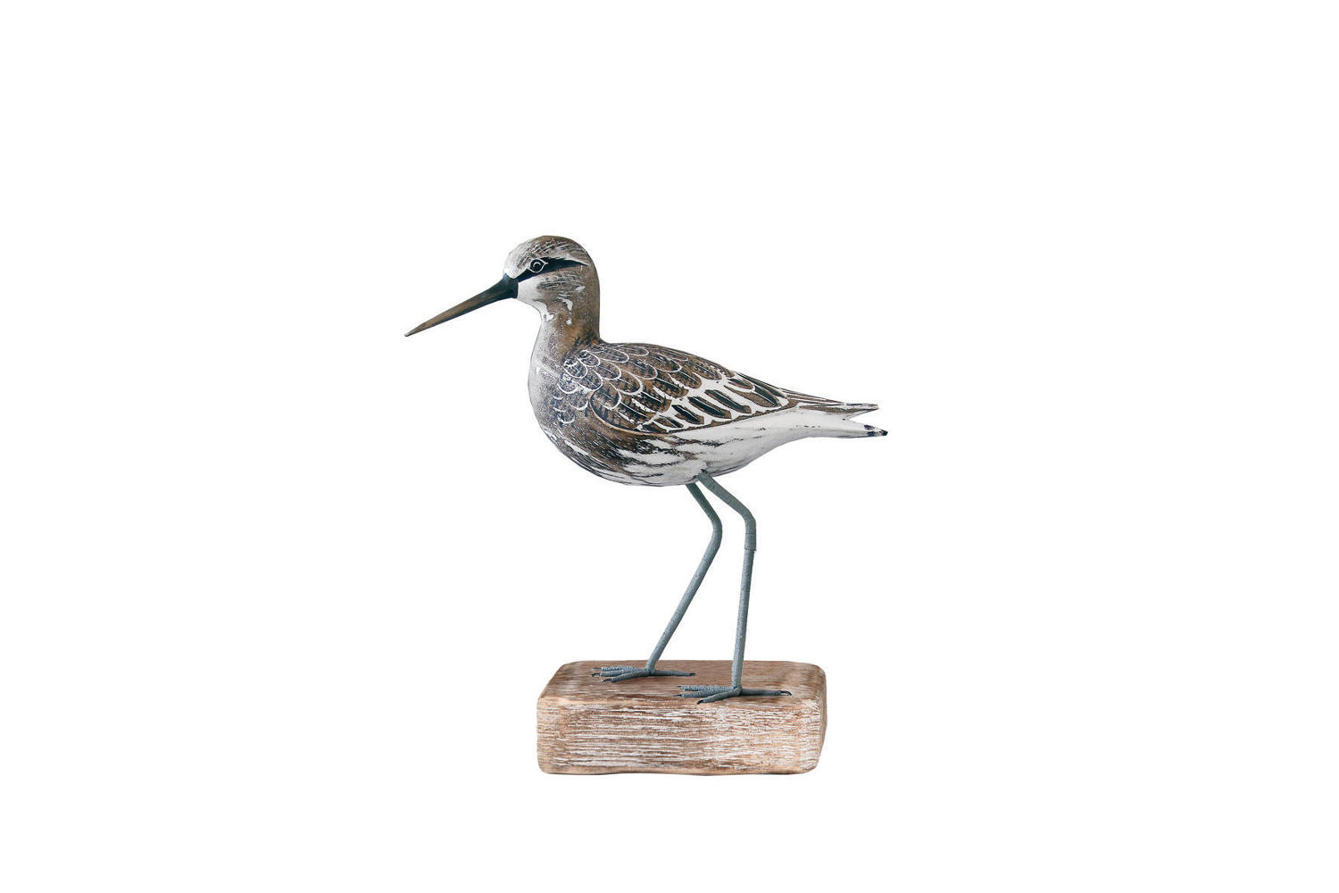 Sandpiper - Hand carved and painted