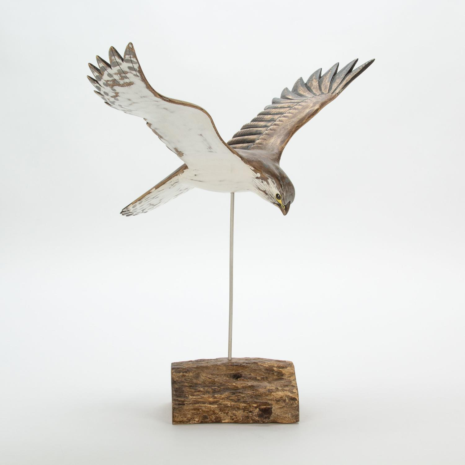 Kestrel - Hand carved and painted