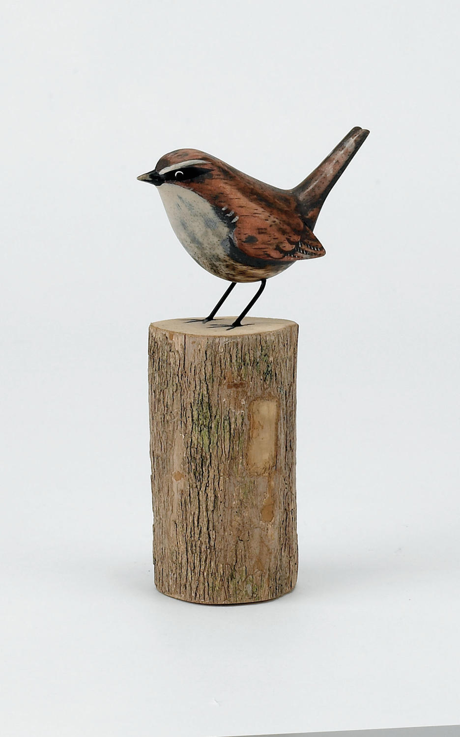 Wren - Hand carved and painted