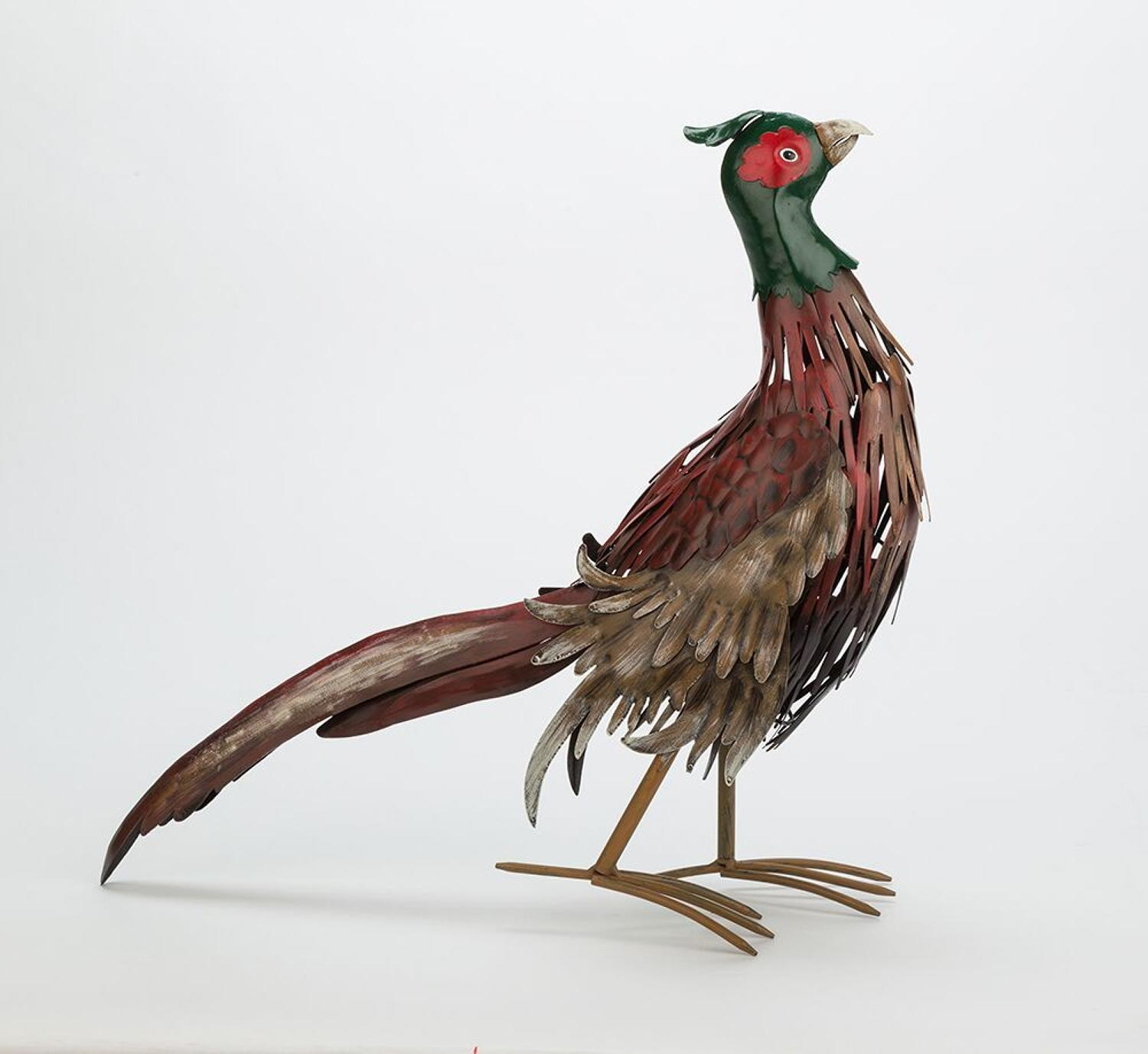 Pheasant - Hand carved and painted