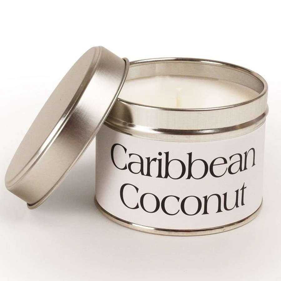 Pintail - Caribbean Coconut candle - burn time up to 35 hours