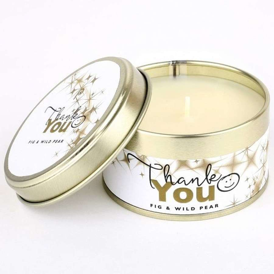 Pintail - Thank you candle - up to 20 hours burn time