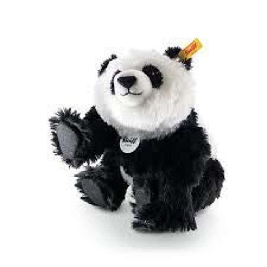 Steiff - Panda - made of fine mohair and is 5 way jointed