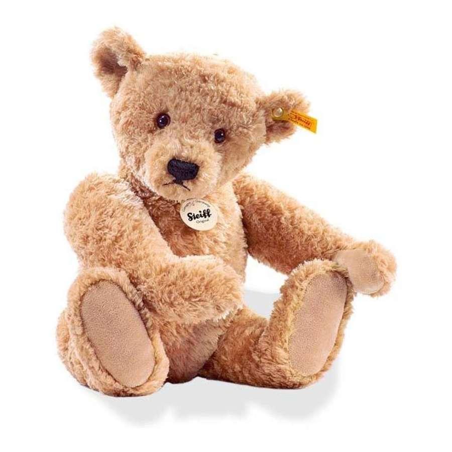 Steiff -  Elmar bear - golden brown, suitable for all ages
