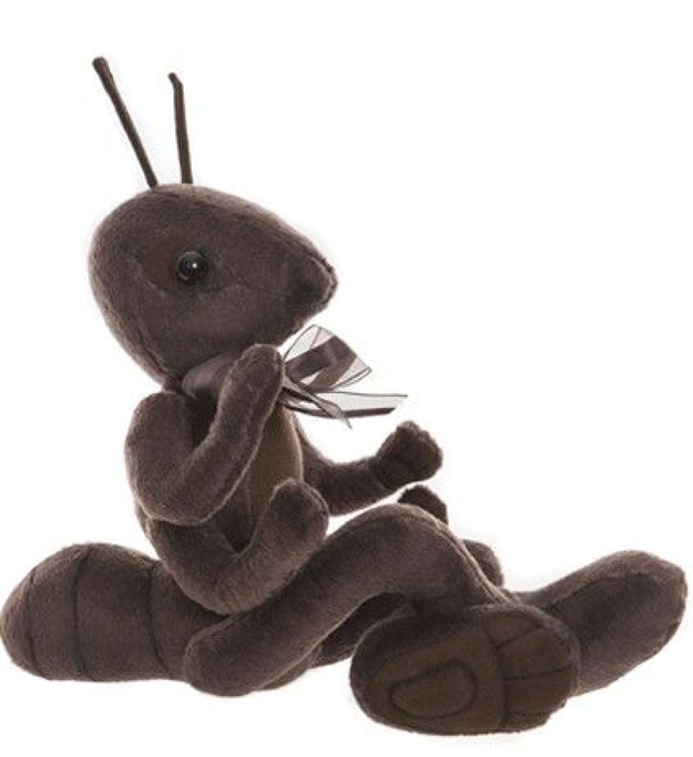 Charlie bear - Sarge(ant) from the fable The Ant & the grasshopper