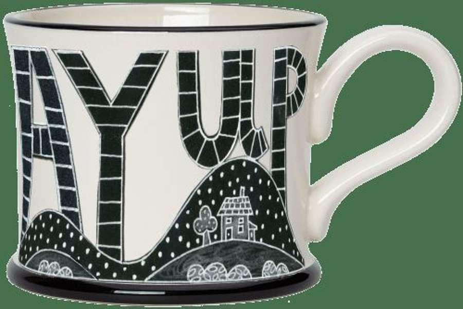 Moorland pottery - Mug - Ay up three kilns