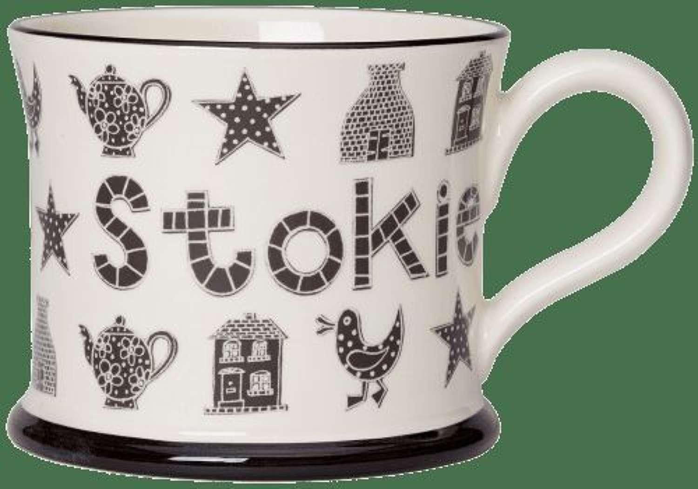 Moorland pottery - mug - Honorary stokie