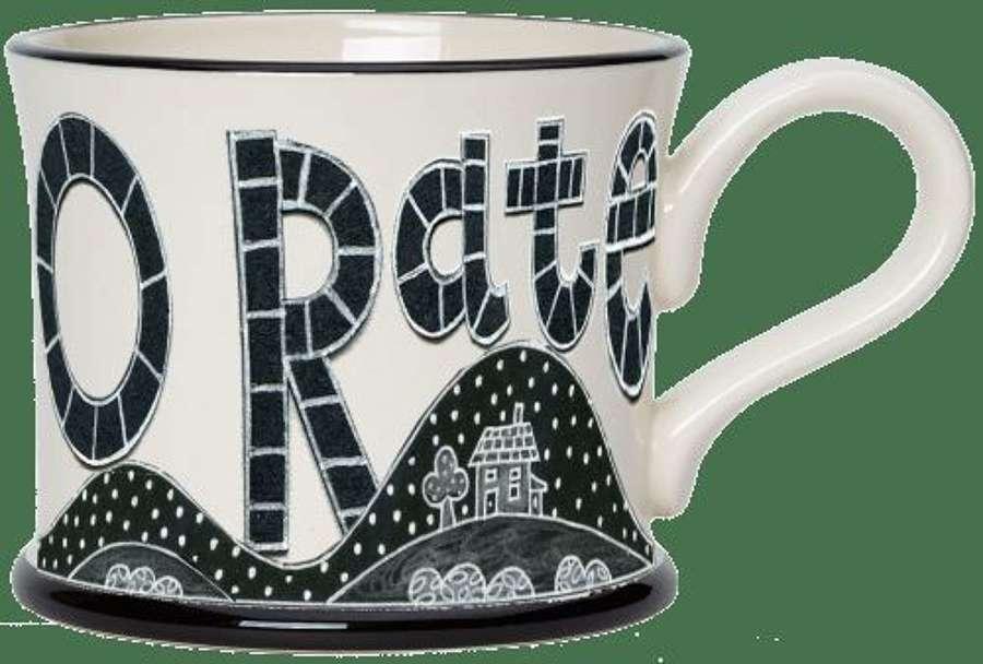 Moorland pottery - mug - O rate three kilns