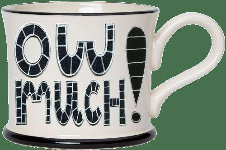 Moorland pottery - mug - Ow much!
