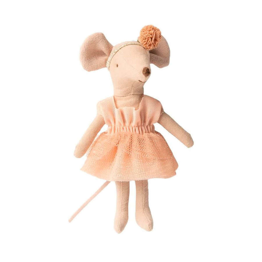 Maileg - Dance mouse Giselle -with ballet outfit & magnets in hands