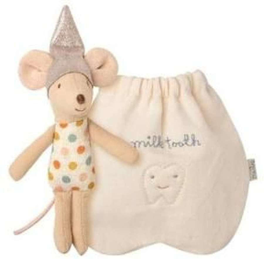 Maileg- little toothfairy mouse - comes with bag to keep teeth in
